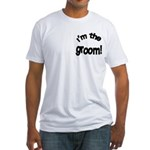 I'm the Groom Wedding Fitted T-Shirt