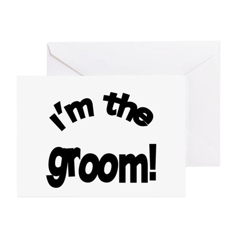 I'm the Groom Wedding Greeting Cards (Pk of 10)