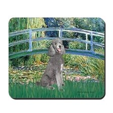 Bridge/Std Poodle silver) Mousepad