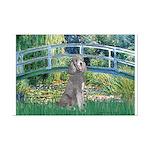 Bridge/Std Poodle silver) Mini Poster Print