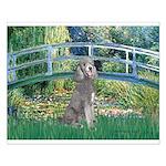 Bridge/Std Poodle silver) Small Poster