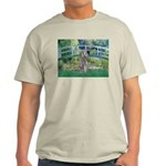 Bridge/Std Poodle silver) Light T-Shirt
