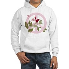 Peace Sign with Bird Hoodie