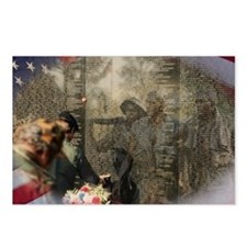 Vietnam Veterans' Memorial Postcards (Package of 8