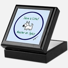 Save a Life! Spay & Neuter Keepsake Box