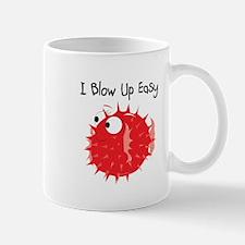 Red I Blow Up Easy Mug