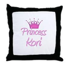 Princess Kori Throw Pillow