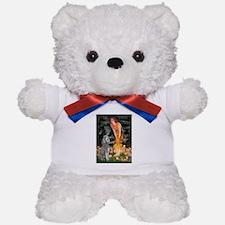 Midsummer/Std Poodle (silver) Teddy Bear