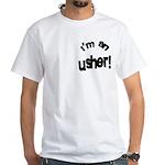 I'm An Usher Wedding White T-Shirt