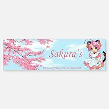 Sakura-Chan Bumper Bumper Bumper Sticker