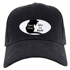 Save Lives (Cat) Spay & Neute Baseball Hat