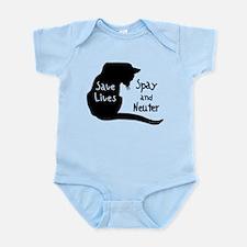 Save Lives (Cat) Spay & Neute Infant Creeper