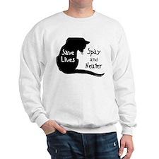 Save Lives (Cat) Spay & Neute Sweatshirt