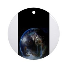 fantasy castle Ornament (Round)