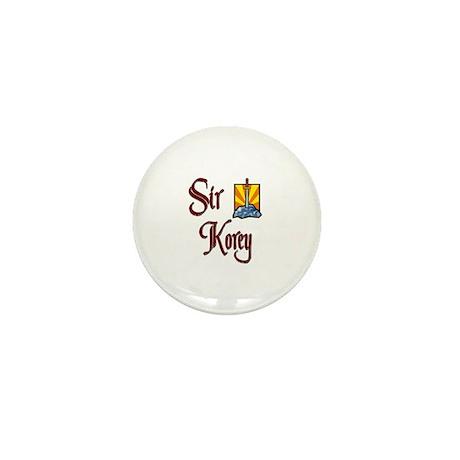 Sir Korey Mini Button