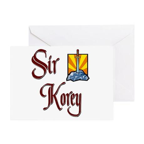 Sir Korey Greeting Card
