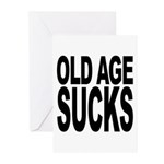 Old Age Sucks Greeting Cards (Pk of 10)