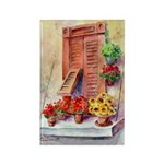 Italian window Rectangle Magnet (10 pack)