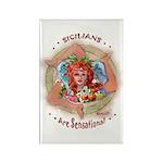 Sensational Siclians Rectangle Magnet (10 pack)