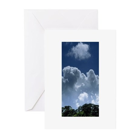 skytrees Greeting Cards (Pk of 20)