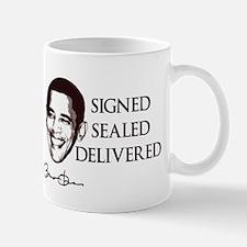 Signed, Sealed, Delivered Mug