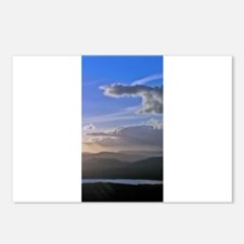 sky sea photo Postcards (Package of 8)