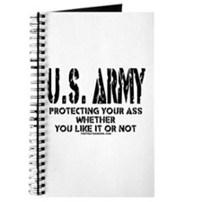 US ARMY PROTECTING YOUR ASS Journal