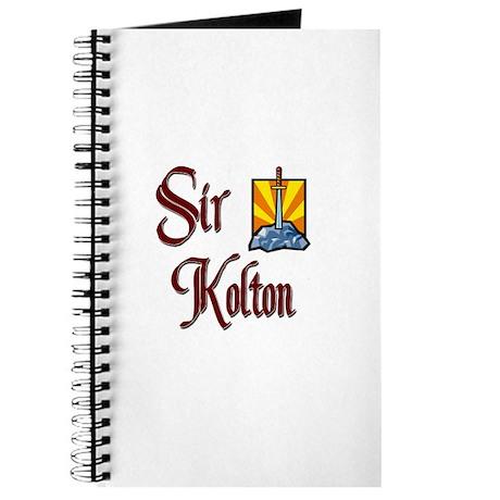 Sir Kolton Journal