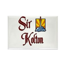 Sir Kolton Rectangle Magnet