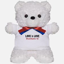 Love is Love; No on 8 Teddy Bear