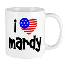 I Love Mardy (Fish) Mug