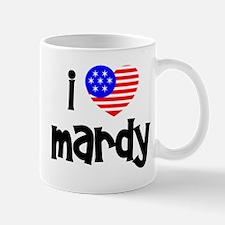 I Love Mardy (Fish) Mug