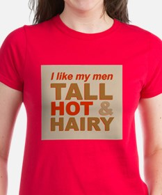 Tall, hot and hairy... Tee