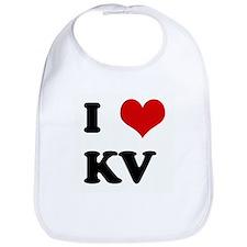 I Love KV Bib