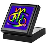 Cancer & Scorpio GLBT b Keepsake Box
