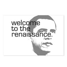 Cute Barack obama hope Postcards (Package of 8)