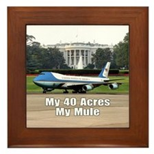 40 Acres and a Mule Framed Tile