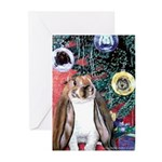 Bunny Rabbit Christmas Greeting Cards (Pk of 20)