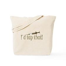Funny Phlebotomy & Nursing Tote Bag