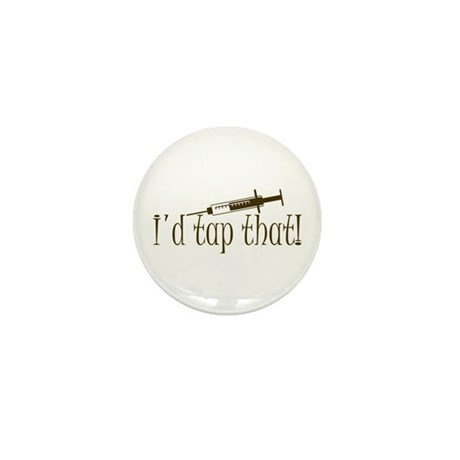Funny Phlebotomy & Nursing Mini Button