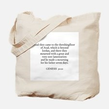 GENESIS  50:10 Tote Bag