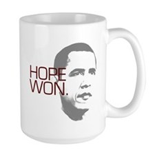 "Obama ""Hope Won."" Mug"