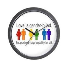 Marriage Equality Wall Clock