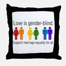 Marriage Equality Throw Pillow