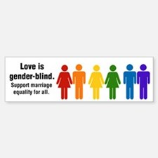 Marriage Equality Bumper Bumper Bumper Sticker