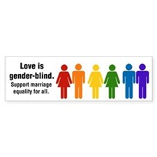 Marriage Equality Bumper Bumper Sticker