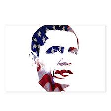 Obama Flag Postcards (Package of 8)