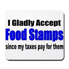 Food Stamps Mousepad