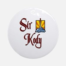 Sir Kody Ornament (Round)