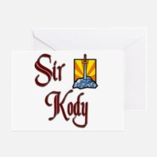 Sir Kody Greeting Card